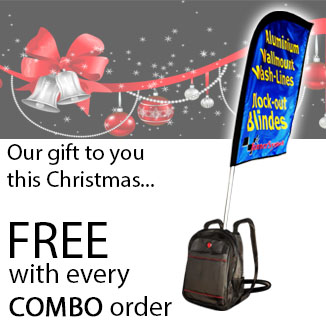 Backpack banner manufacturer in South Africa