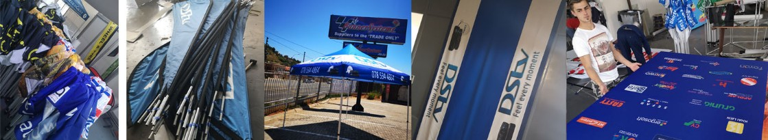 We manufacture, print and supply flags and banners to the industry