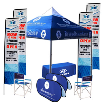 We offer a wide range of Gazebo combo deals, Flags & Banners.Unbeatable Prices
